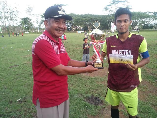 Kalahkan Tuan Rumah Arasoe, Dua Putra Saltim Juara I di Agen Kebaikan Cup I 2018