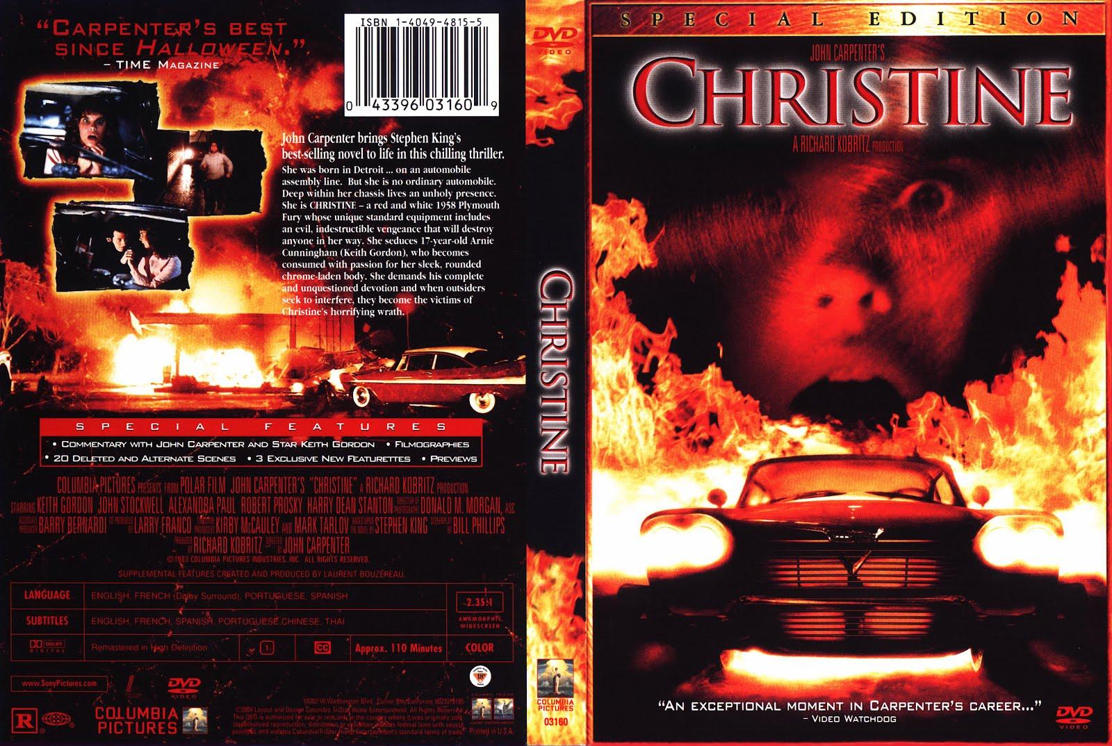 ZonaOchentera: Christine (1983) [FULL HD / DUAL + SUBTITULOS] |Christine 1983 Poster Back