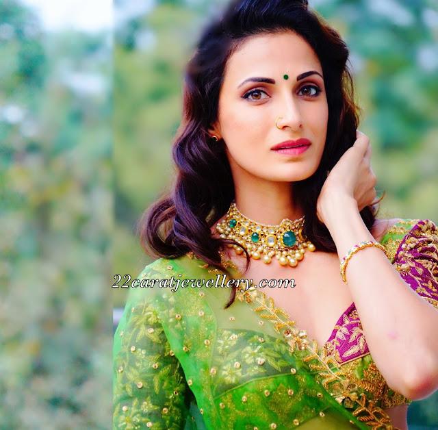 Shilpa Reddy Elegant Polki Choker