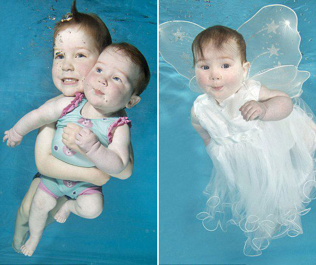 British Underwater Photographer For The Baby Photo Shoot Leading Fashion