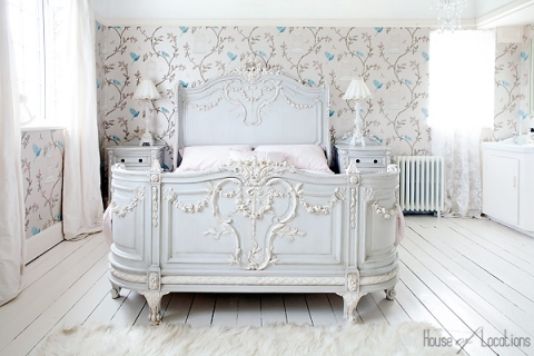 luxury vintage shabby chic bedroom furniture sets