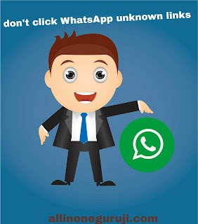 Whatsapp unknown links