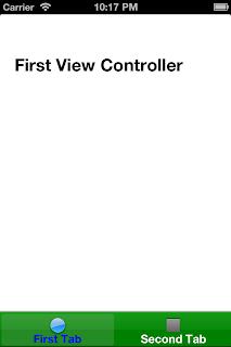 iOS UITabBarController First Tab