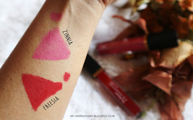 [REVIEW] Lipcream Hi-Matte Purbasari 04 Zinnia & 05 Freesia