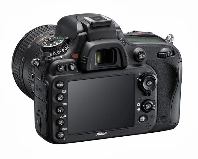 Il monitor della Nikon D610