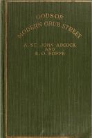 Gods of Modern Grub Street - W. Somerset Maugham