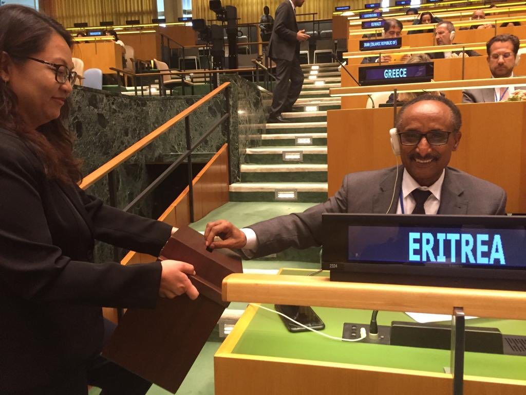 <Eritrea - Tail Wagging at the UN