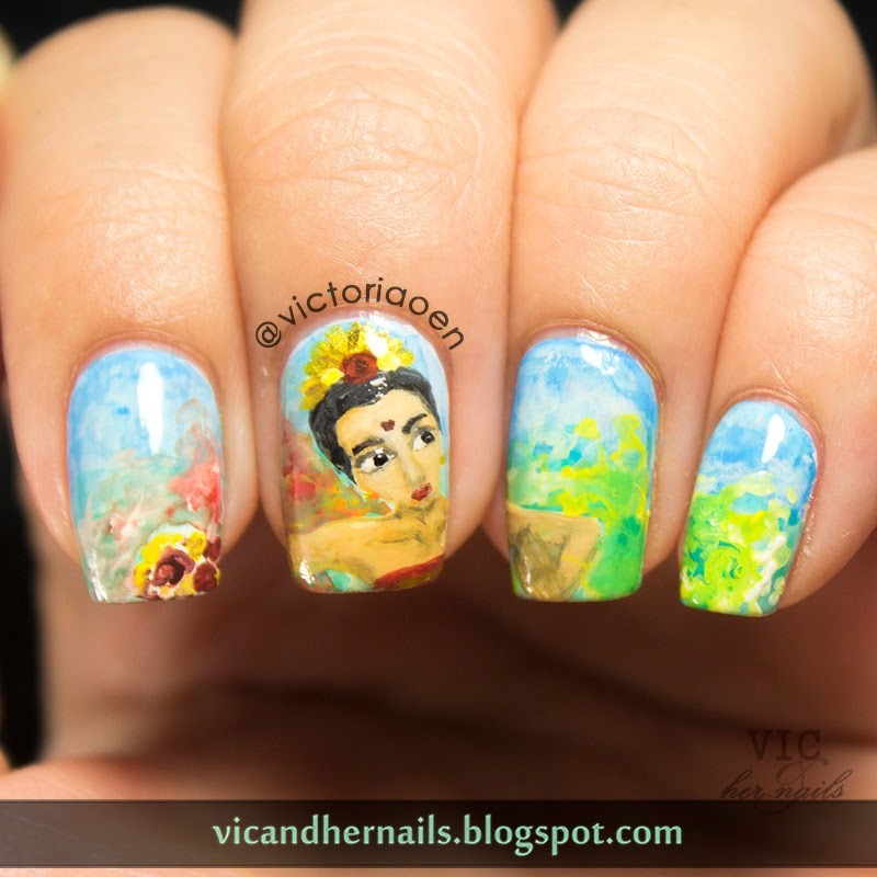 Vic And Her Nails: The Digital Dozen Does Countries