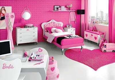 Contoh Kamar Tidur Anak Perempuan Barbie