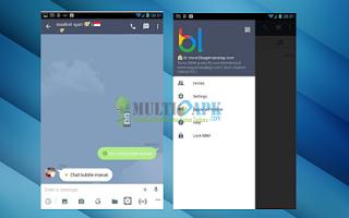 download BBM Mod Mirip LINE v2.13.1.13 apk + BBM2