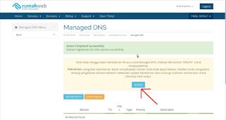 cara pasang domain tld dari rumahweb