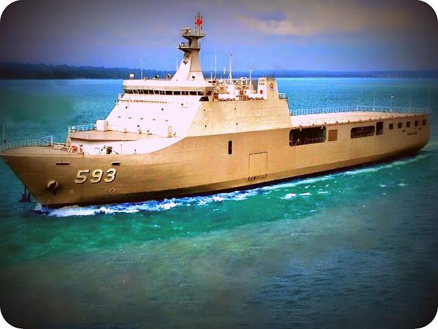 KRI Banda Aceh-593 akan Amankan Perbatasan RI-PNG