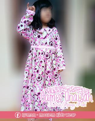 Gamis Anak Lucu Pink