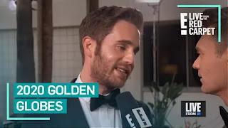 Ben Platt fala sobre BFF Beanie Feldstein no Globo de Ouro