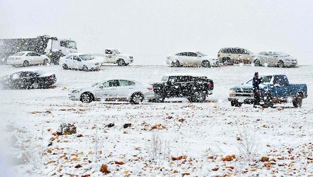 Padang Pasir Arab Saudi Kembali Tertutup Salju Putih, Syaikh Sudais: Rasulullah Benar Soal Kiamat