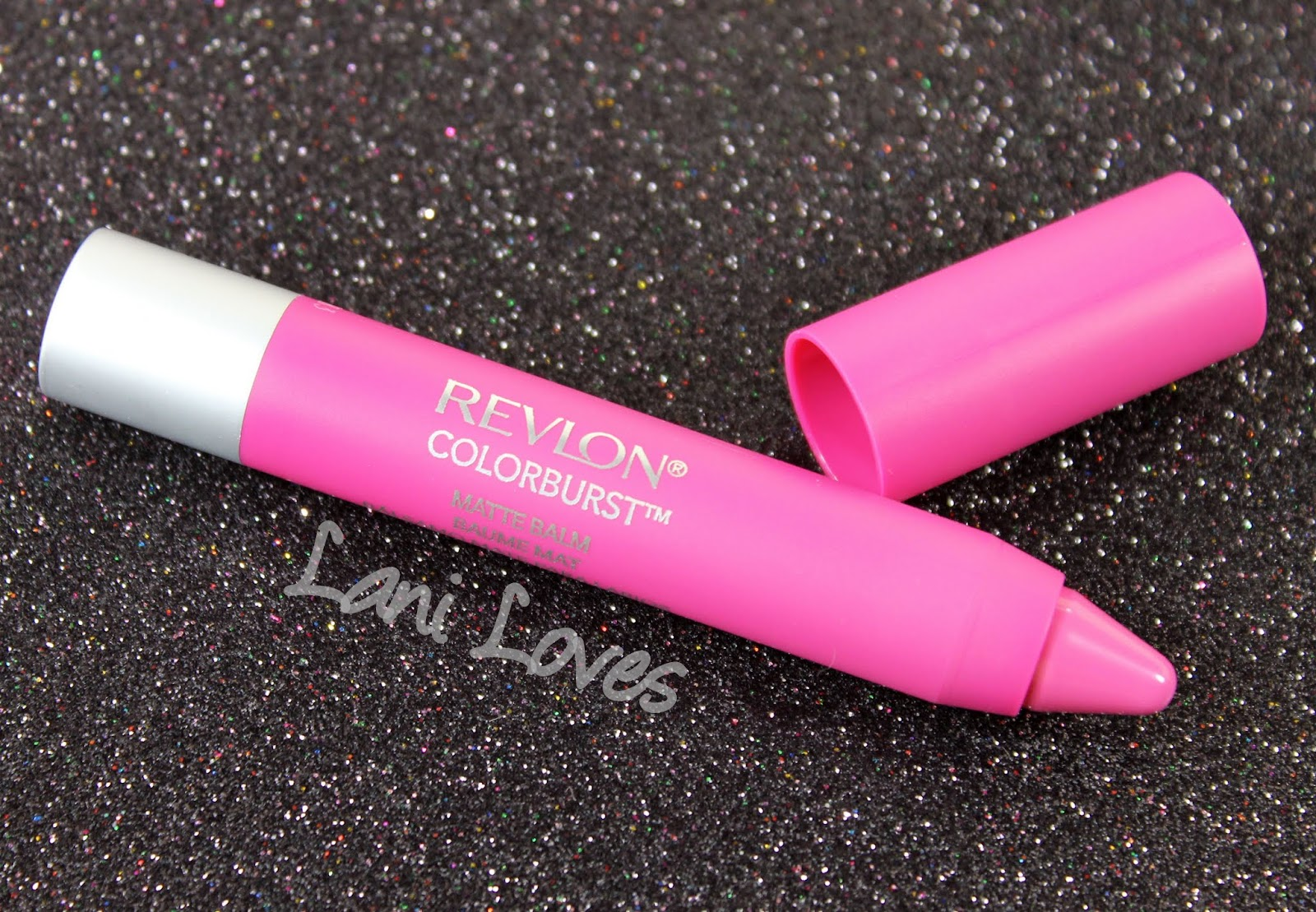 Revlon Colorburst Matte Balm - Showy Swatches & Review