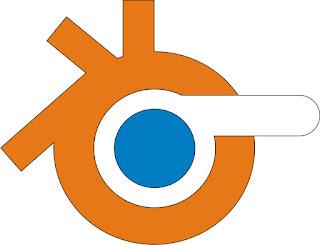 Logo 3d blender