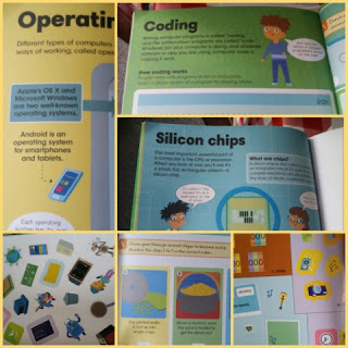 Discovery Kids Factivity Coding and Computers  collage