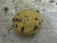 Cookies des rois coeur frangipane à la cacahuète avant cuisson