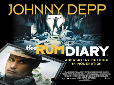 The Rum Diary Film con Johnny Depp