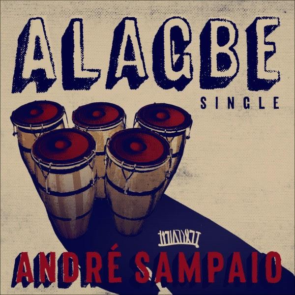 """André Sampaio divulga faixa-título do disco """"Alagbe"""""""