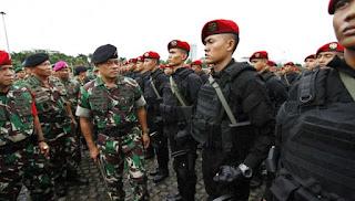 Inspeksi Pasukan Oleh Panglima TNI