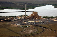 Oregon's only remaining coal plant, in Boardman, is scheduled to close by the end of 2020. (Credit: Olivia Bucks/The Oregonian/2005) Click to Enlarge.