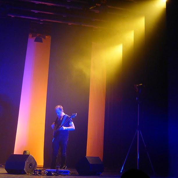 Aidan Baker @ Antwerp Ambient Festival 2014 / photo S. Mazars