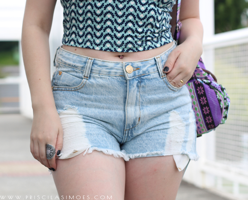 look com shorts despojado