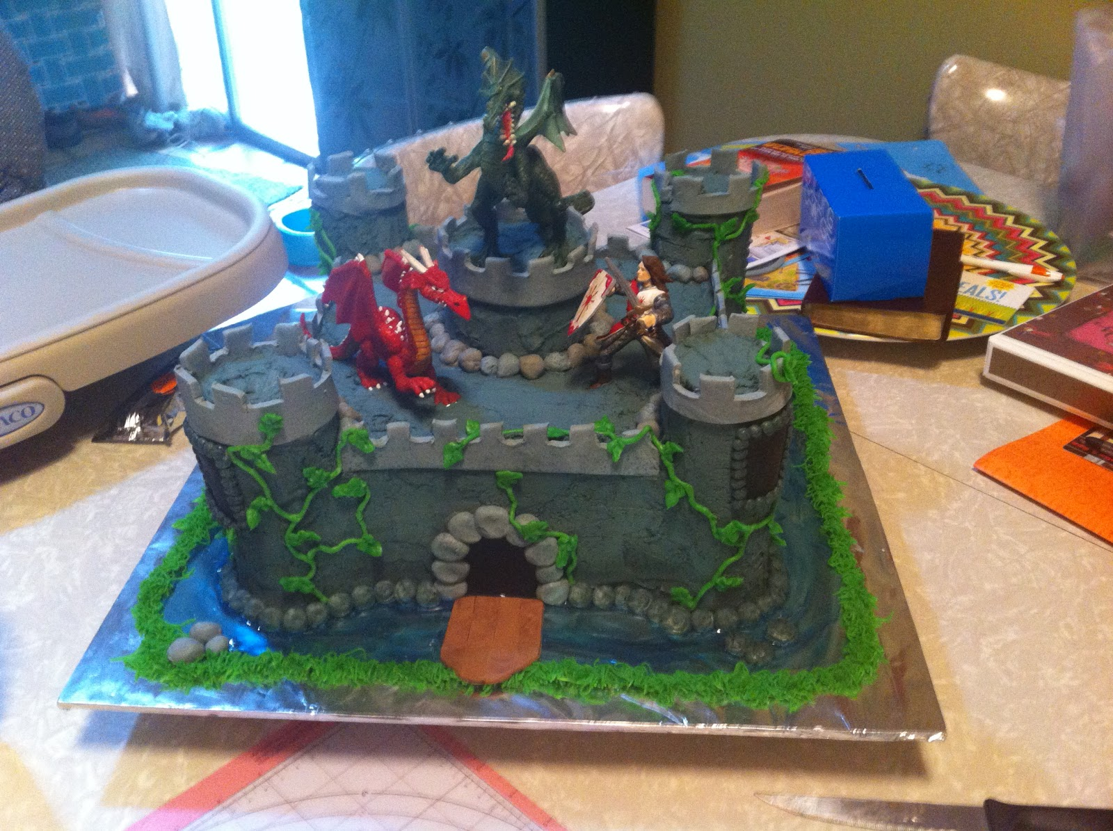 Sarah Jones Cakes Castle Cake