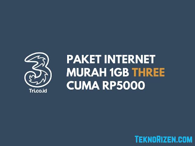 tri merupakan salah satu provider layanan internet di Indonesia yang selalu memberikan pr Tutorial Beli Paket Internet Murah 3 Tri 1GB Cuma 5+000