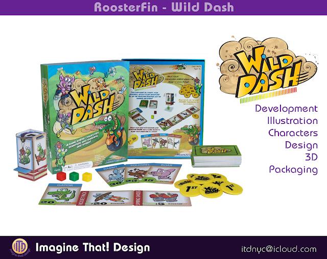 Game Design and Illustration by Kurt Keller and Traci Van Wagoner at Imagine That! Design
