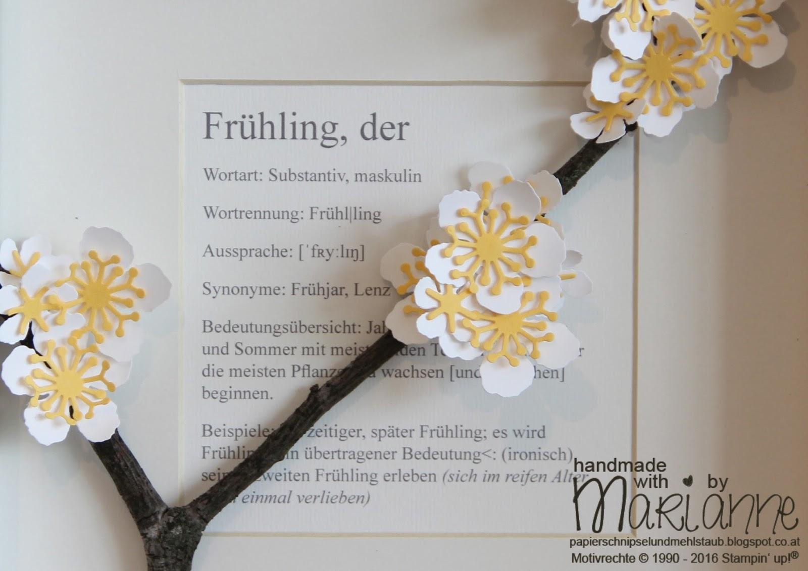 Papierschnipsel & Mehlstaub: Frühlingsgefühle