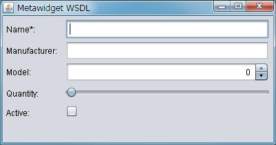 XML Schema, WSDL and SOAP UI Generator