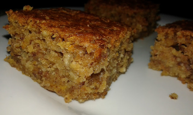 Carrot, nuts and apple cake recipe