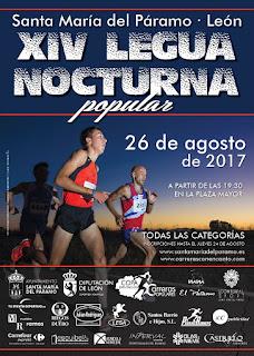 Legua Nocturna de Santa Maria del Paramo 2017