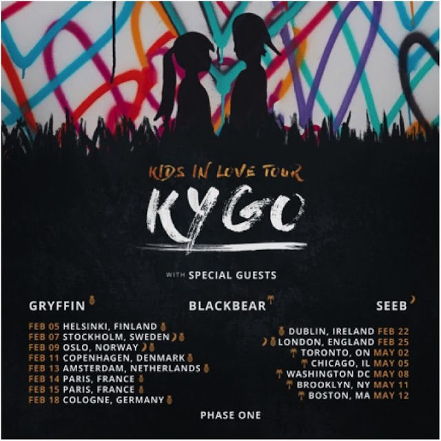 Kygo Announces 2018 'Kids In Love' Tour