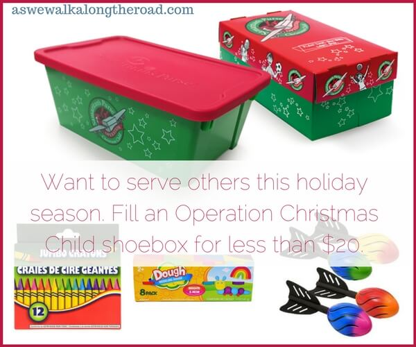 Fill an Operation Child shoebox for less than $20