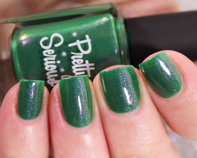 Pretty Serious Epic Haul nail polish swatches & review