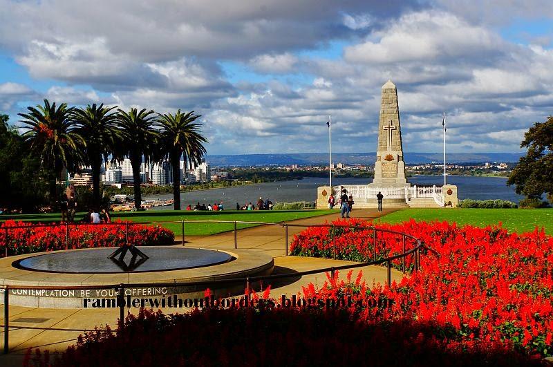 State War Memorial, Kings Park, WA, Australia