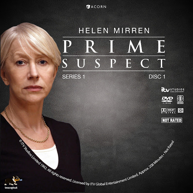 Prime Suspect Season 1 Disc 1 DVD Label