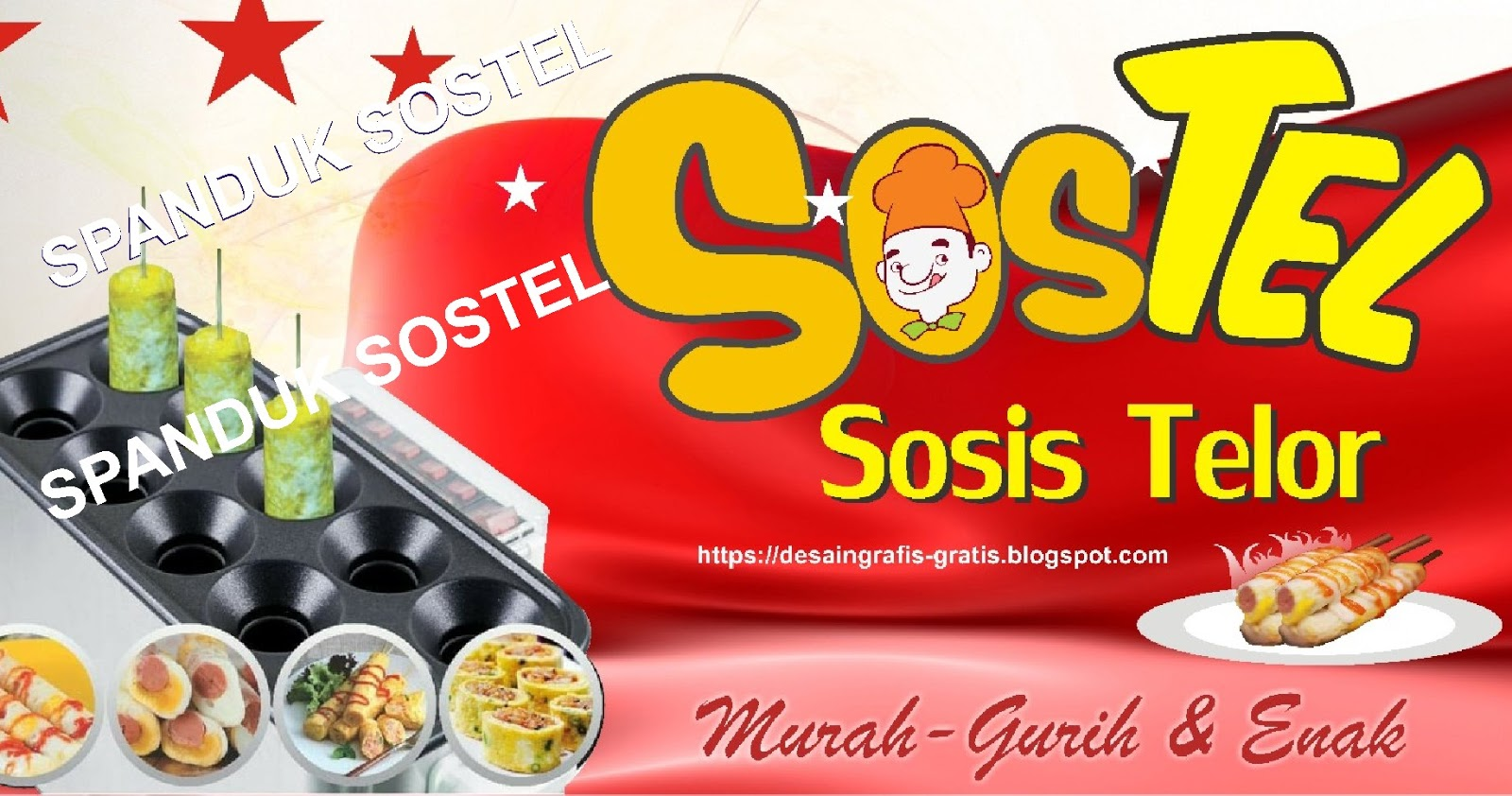 Download Desain Spanduk Sostel Terbaru (.cdr) - DESAIN ...