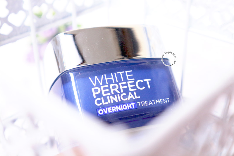 White Perfect Clinical Overnight Treatment