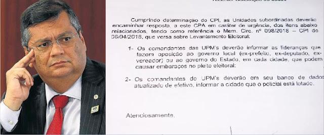 PRE vai apurar documento do governo do Maranhão que ordena espionagem de políticos