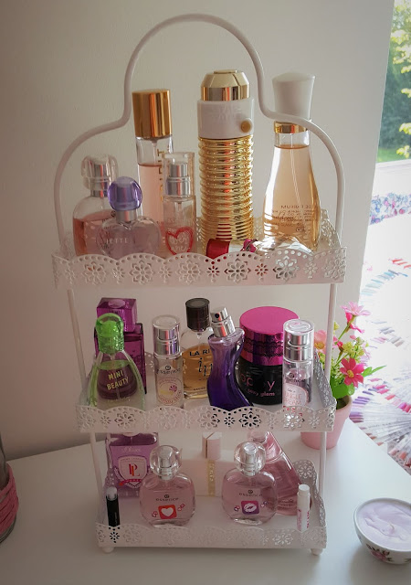 Parfümaufbewahrung