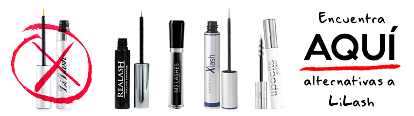 LiLash Realash M2Lashes Xlash Lipocils