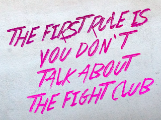 Lettering - Fight Club