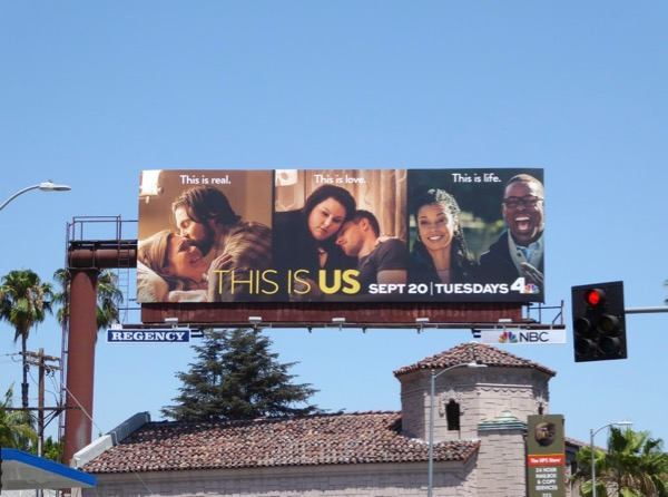 This is Us season 1 billboard