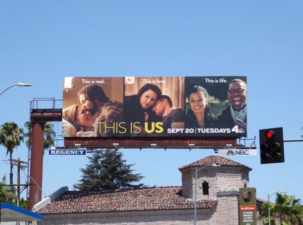 This is Us season 1 billboard