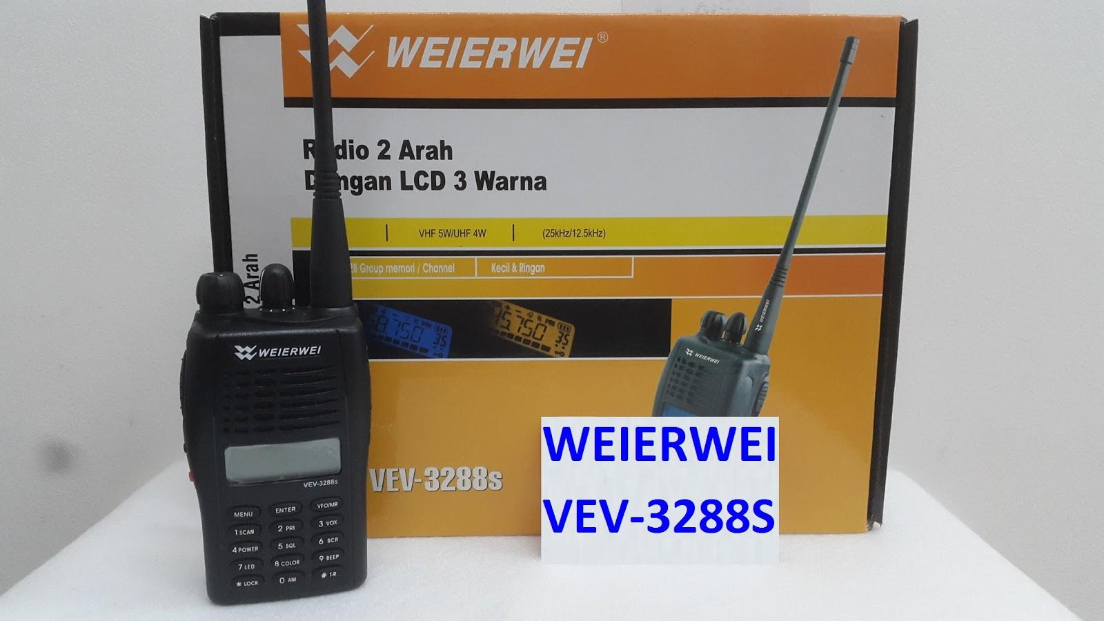 Ht Handy Talky Weierwei Vev 3288s Dual Band Vhf Uhf Mall Rb433ah Mulus Selasa 14 Juni 2016
